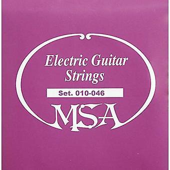 MSA Musikinstrumente gitar stål streng SK50 010-046