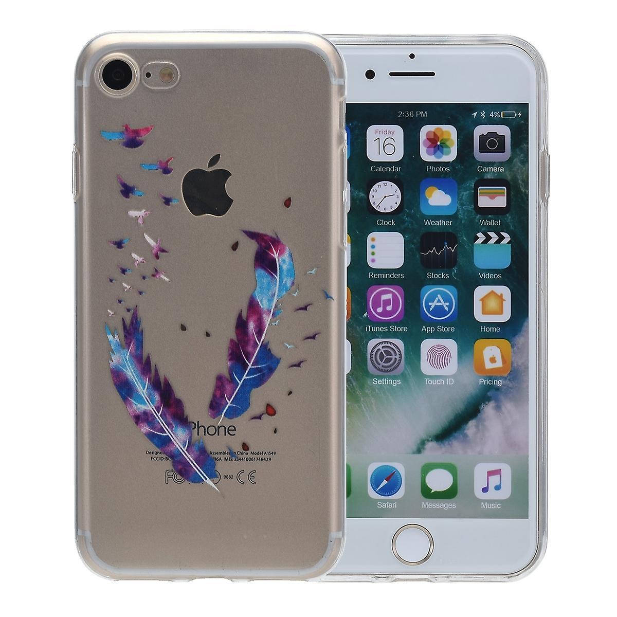 funda iphone 6 plumas