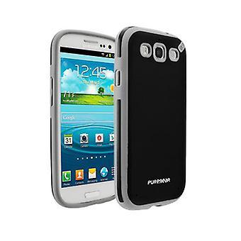 5 pack - Puregear Slim skal för Samsung Galaxy S3 (svart te) - 02-001-01692
