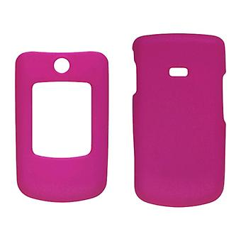 5 Pack -Two piece Soft Touch Snap-On Case for Samsung Contour SCH-R250 - Hot Pink