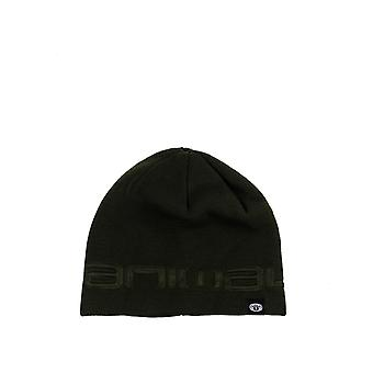 Animal Agas Beanie in PINE GREEN
