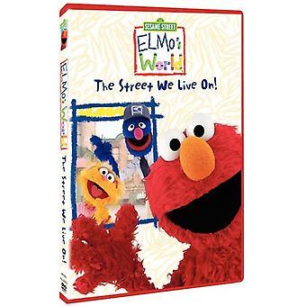 Sesame Street - Elmos World-Street We Live on [DVD] USA import