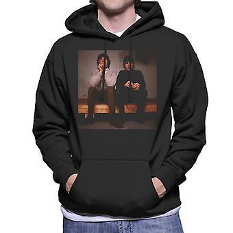 TV ganger Mick og Keith Rolling Stones menn er hette Sweatshirt