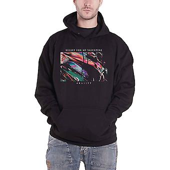 Bullet For My Valentine Hoodie Gravity Band Logo Official Mens Black Pullover