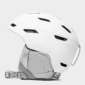 Nuevo Smith mujeres Mirage Snowsports Ski Safety Casco Blanco