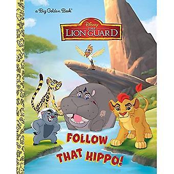 Suivez cette hippopotame! (Disney Junior: la garde du Lion) (Grand livre d'or)