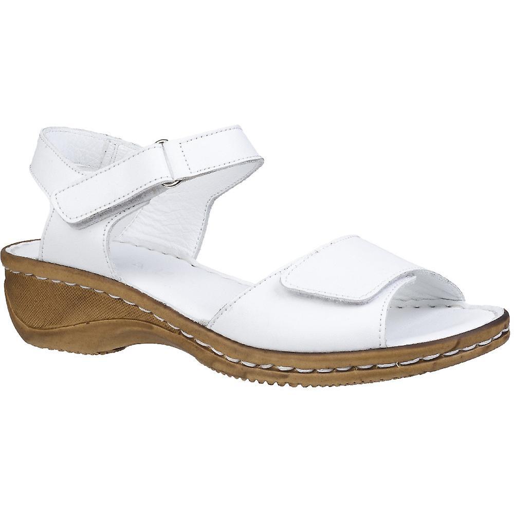 Fleet & Foster Womens Linden Adjustable Leather Sandals
