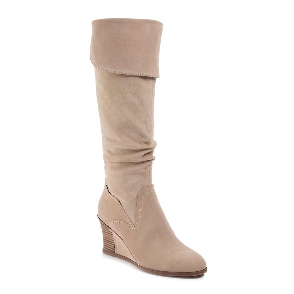 Lucca Lane Zander damskie skórzane migdałów palców nad moda buty z cholewami RiLm3