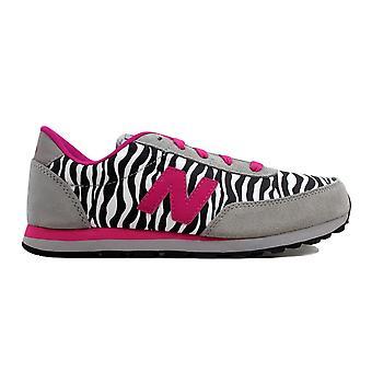 Novo equilíbrio 501 clássico cinza/Pink Zebra KL501ZBY escola