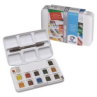 Van Gogh Water Colour Pocket Box Paint Set