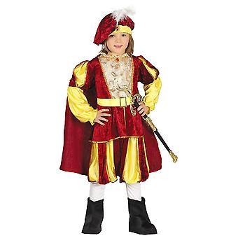 Boys Prince Royalty Fancy Dress Costume