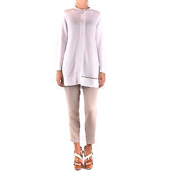 Fabiana Filippi Ezbc055020 Women's Suéter de Algodão Branco