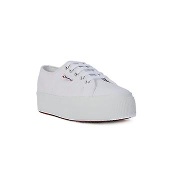 Superga white up and down fashion sneakers