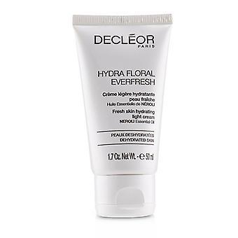 Decleor Hydra Floral Everfresh Fresh Skin Hydrating Light Cream - For Dehydrated Skin (salon Product) - 50ml/1.7oz