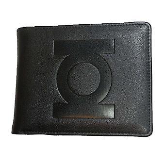 男士'S DC 漫画 绿灯笼黑色双折钱包