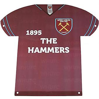 West Ham United metal skjorte Registrer