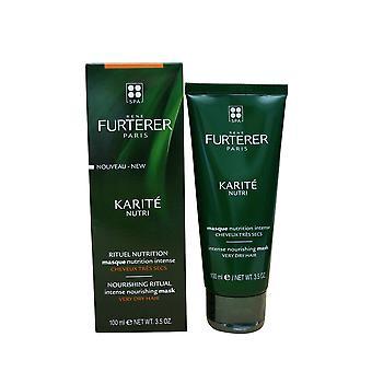 Rene Furterer Karite Nutri Intense Nourishing Mask Very Dry Hair 3.5 OZ