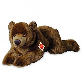Hermann Teddy Cuddle ruskea karhu valehtelee