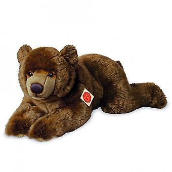 Hermann Teddy Cuddle orso bruno sdraiato