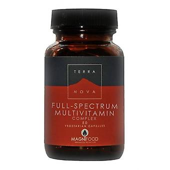 Terranova Full-Spectrum multivitamin Complex Vegicaps 50 (T1308)