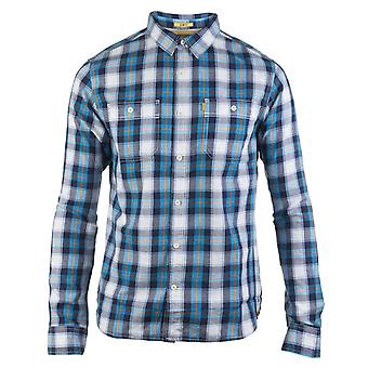 CAT Lifestyle Mens Delavan Long Sleeve Shirt Plaid