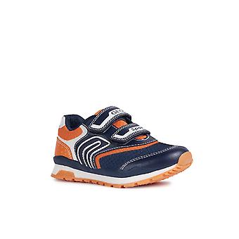 Geox Kids J Pavel A Touch Fastening Trainer