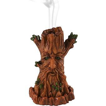Tree Man røkelse kjegle holderen