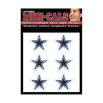 Wincraft 6 Erface Sticker 3cm - NFL Dallas Cowboys