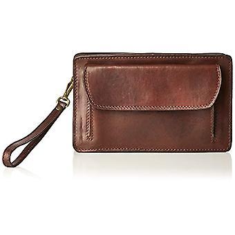 All-Fashion Hair Cbc18100bgf22 Unisex Adult Brown Hand Bag (Moor's Head) 7x15x23 cm (W x H x L)