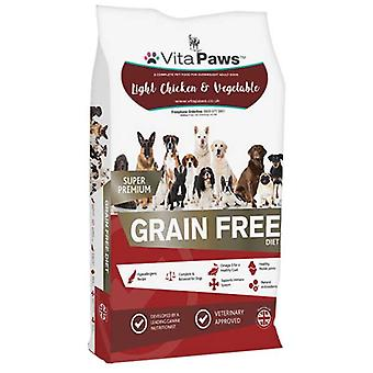 Vitapaws/dog-food/light-chicken-dog-food - 12 kg