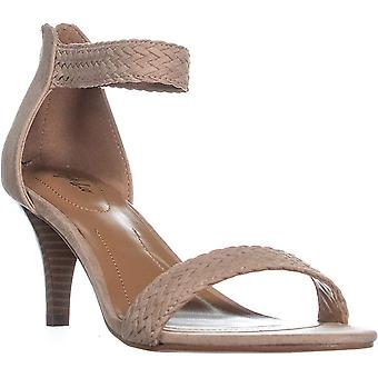 Style & Co Womens Patty tyg öppen tå casual ankel rem sandaler