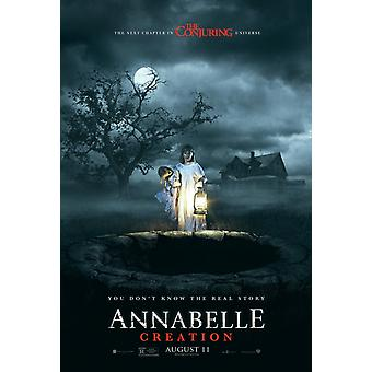 Annabelle: Creation original film plakat-Advance Style (conjuring Universe)