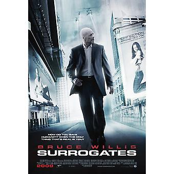 Surrogates  Double Sided Us One Sheet (2009) Original Cinema Poster