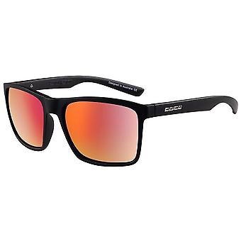 Dirty Dog Droid Satin Sunglasses - Black/Red