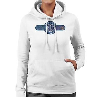 The Crystal Maze Logo Coloured Symbols Women's Hooded Sweatshirt