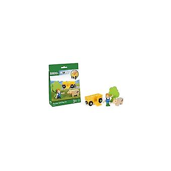 Brio 33840  Farm Girl Play Kit - With Pig