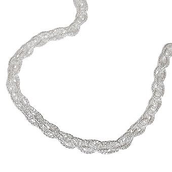 Double anchor chain 3 mm 925 Silver 50 cm