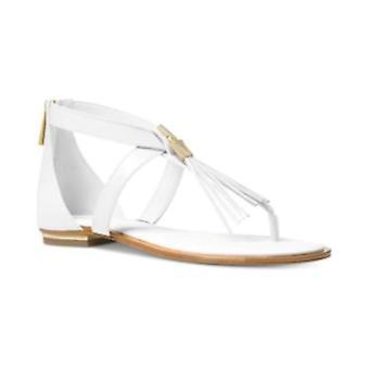 Michael Michael Kors Womens Winslow lederen open teen casual enkel riem sandalen