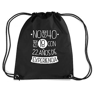 Black backpack dec0002 anos