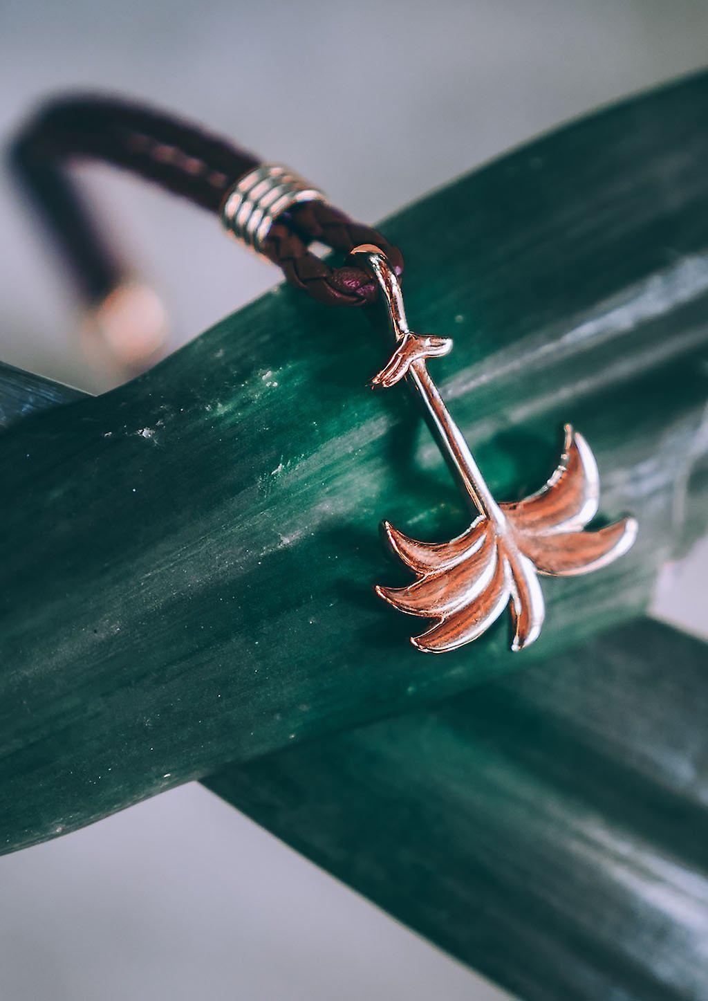 Palm Band Bracelet - Sunrise Gold