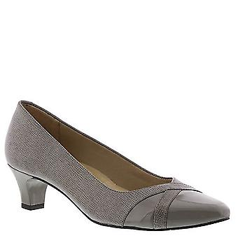 Walking Cradles Womens Intro Leather Closed Toe Classic Pumps