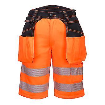 Portwest -PW3 Salut Vis Vêtements de sécurité Holster Shorts