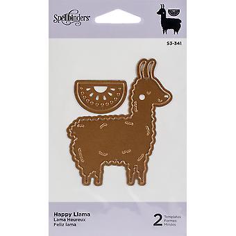 Spellbinders Indie Line Shapeabilities Dies - Happy Llama