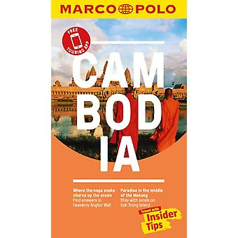 Cambodia Marco Polo Pocket Travel Guide  with pull out map