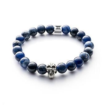 Gemini C2 - mixed Classic Sodalite wristband bracelet