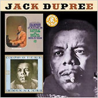 Champion Jack Dupree - Natural & Soulful Blues/Champi [CD] USA import