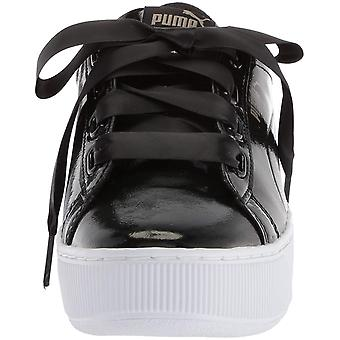 Puma Womens Vikky Platform lint lage Top Lace Up Fashion Sneakers