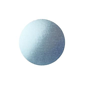 Culpitt 14 pulgadas de la placa de la torta redonda tambor pálido azul