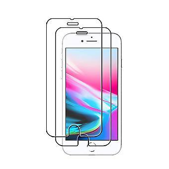 2-Pack gehärtetes Glas iPhone 8 Bildschirmschutz Retail 2I1