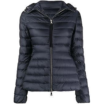 Moncler 1a10600c0355778 Women's Blue Nylon Down Jacket